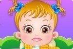 Baby Hazel jest chora