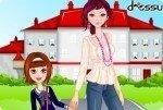 Droga do szkoły z mamą