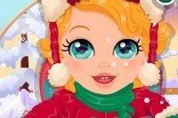 Dziecko na Śniegu