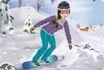 Dziewczynka na Snowboardzie 2