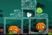 Halloween złych ptaków