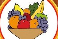 Kolorowanka z Owocami