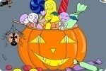 Kolorowanka z Halloween