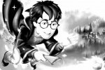Kolorowanka z Harrym Potterem