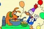 Kolorowanka z Kaczorem Donaldem