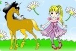 Kolorowanka z Końmi