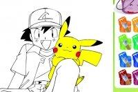 Kolorowanki Pokemon