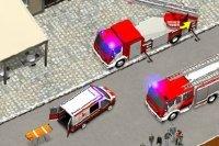 Łączenie wozów strażackich