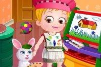 Mała Hazel: naucz się kolorów