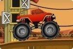 Monster trucki na Pustyni