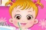 Mycie zębów Baby Hazel