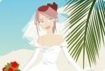 Panna młoda na plaży