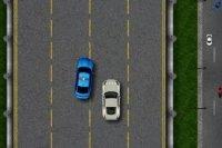 Policyjny patrol autostrady