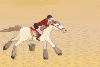 Przygoda z egipskim koniem