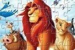 Puzzle z Króla Lwa