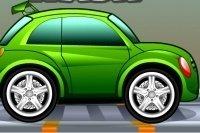 Tinkerbell Myje Samochód