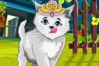 Ubieranie ślicznej Kitty