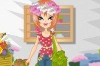 Ubieranie Kwiaciarki
