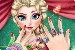 Świąteczne Manicure Elsy
