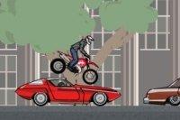 Wyścigi motocyklowe w godzinie szczytu