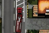 Wytrzymały wóz strażacki