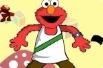 Ubieranie Elmo
